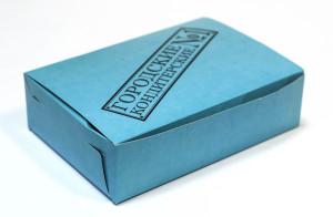 коробка на доставку кондитерка