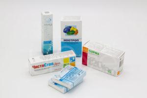 Упаковка для лекарств печать