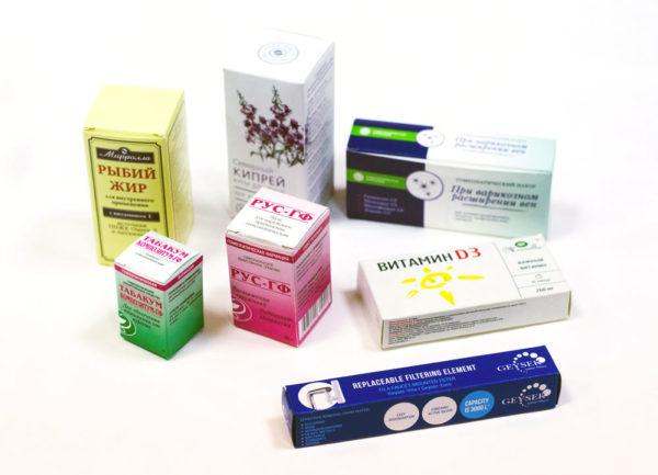 Коробка для лекарств и косметики