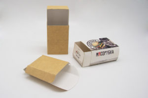 Картофель фри упаковка печать