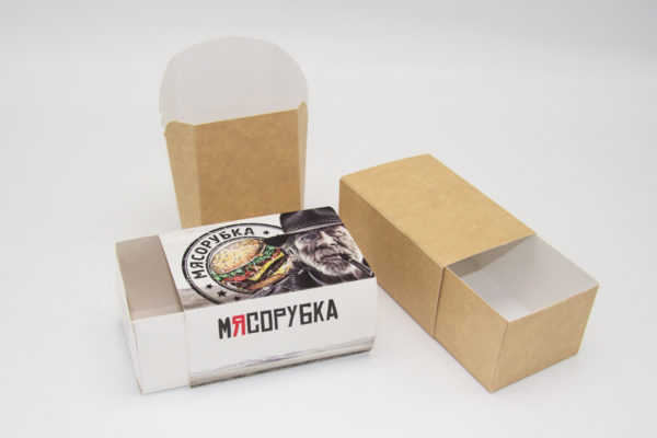 Продажа упаковок для фаст-фуда (fast food): стаканчики