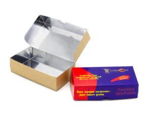 Упаковка для снеков типография