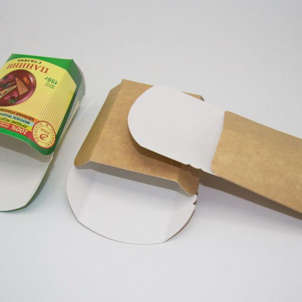 Упаковка фаст фуд панини
