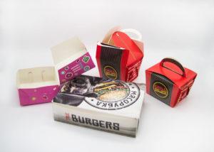 Упаковка для быстрого питания Печать