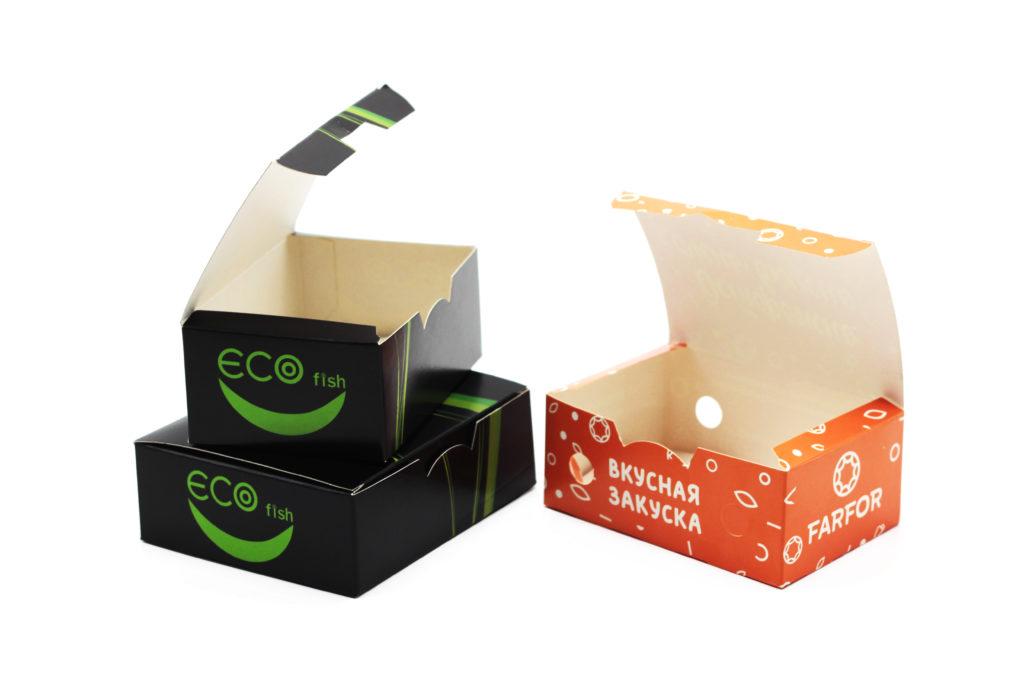 коробка для фаст-фуд