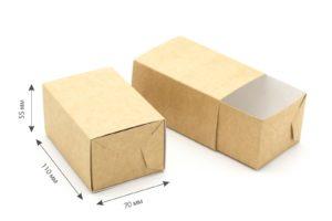 Коробка крафт-фри