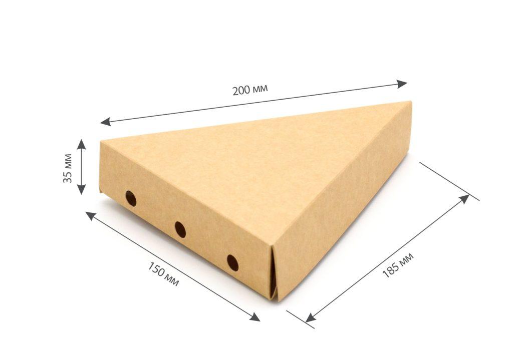 упаковка крафт пицца
