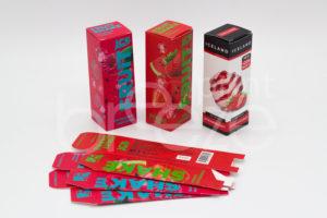 Упаковка жидкий табак типография