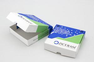 Печать коробка лекарства
